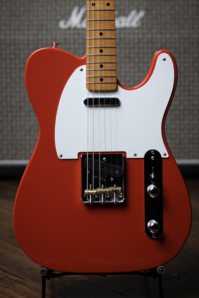 Fender Vintera '50s Telecaster Electric Guitar - Fiesta Red - Walt Grace Vintage