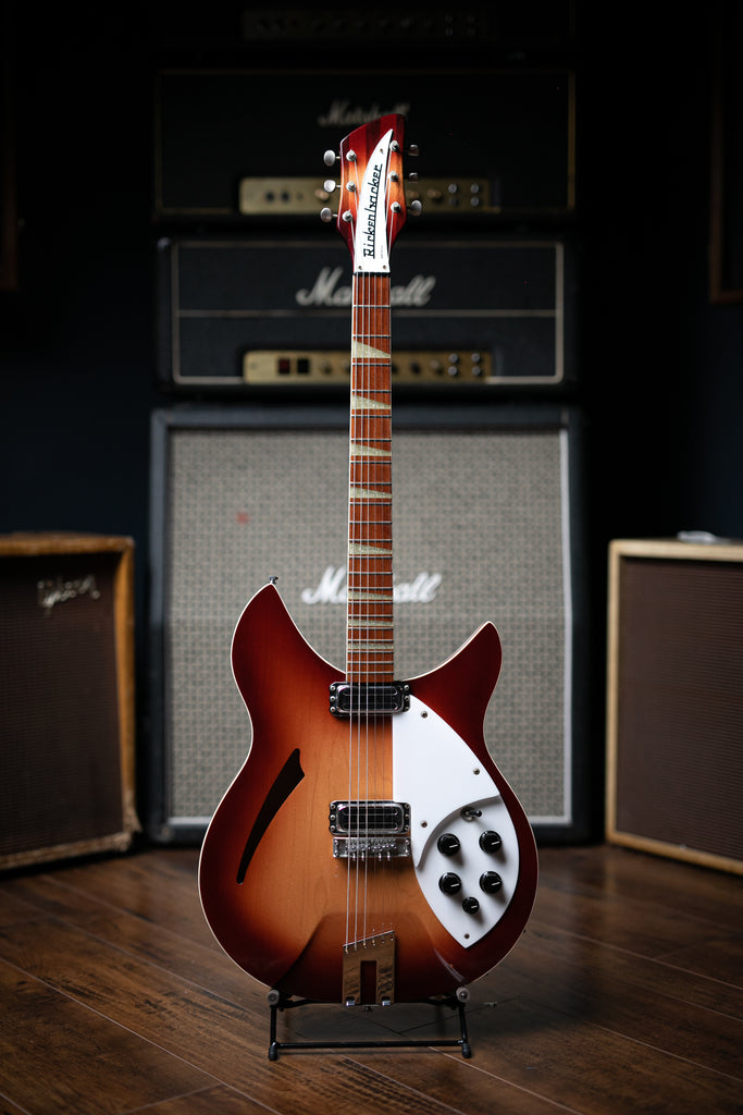 1996 Rickenbacker 360 WB Electric Guitar - Fireglo - Walt Grace Vintage