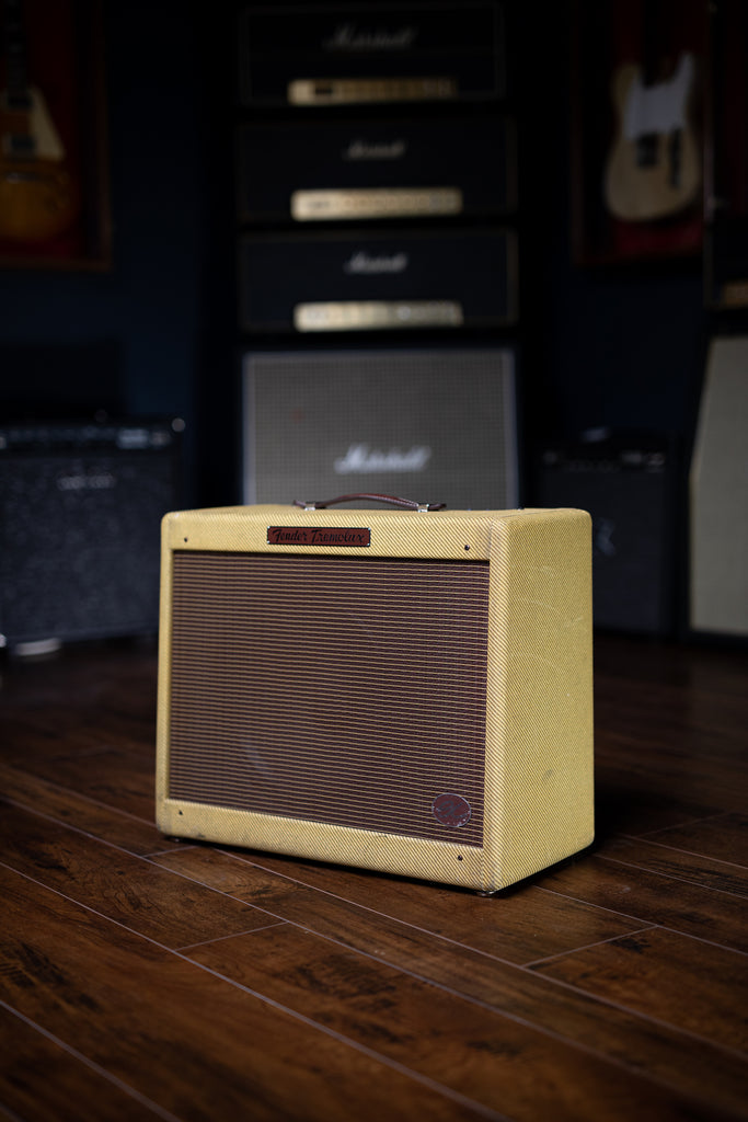2012 Fender Hand Wired EC Tremolux Combo Amp - Tweed - Walt Grace Vintage
