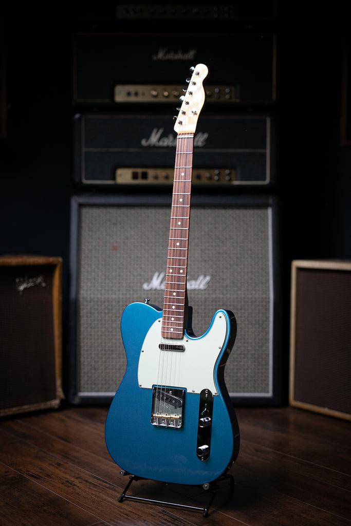 Fender Vintera '60s Telecaster Modified - Lake Placid Blue - Walt Grace Vintage