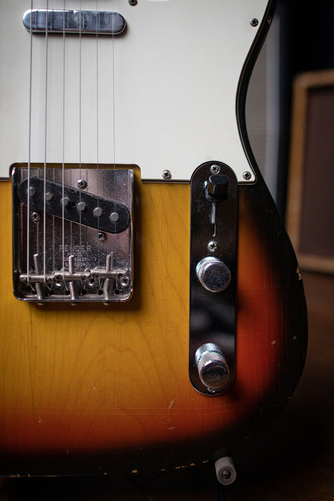1968 Fender Telecaster Maple Cap Neck - Sunburst - Walt Grace Vintage