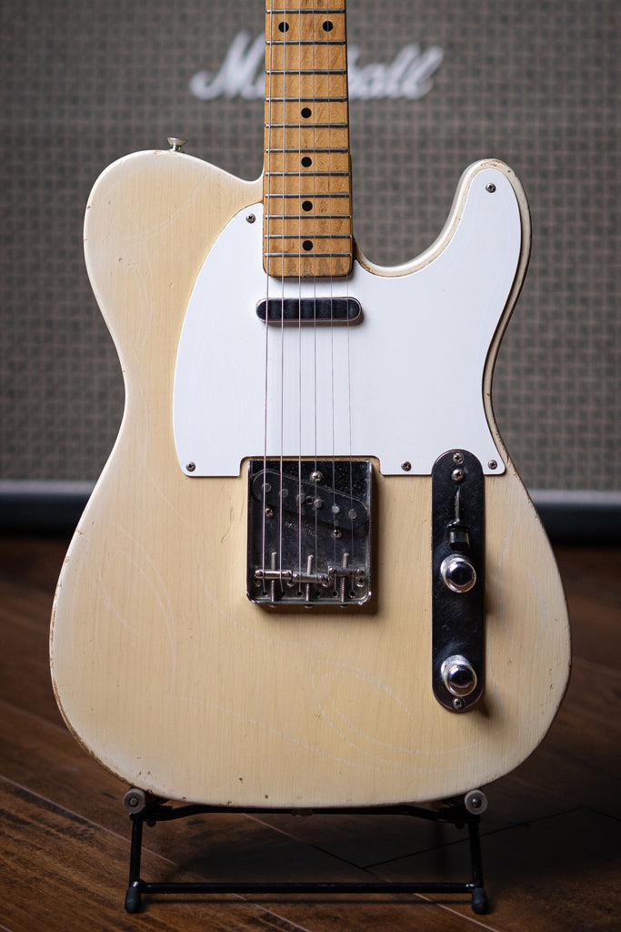 1956 Fender Telecaster Electric Guitar - Blonde - Walt Grace Vintage