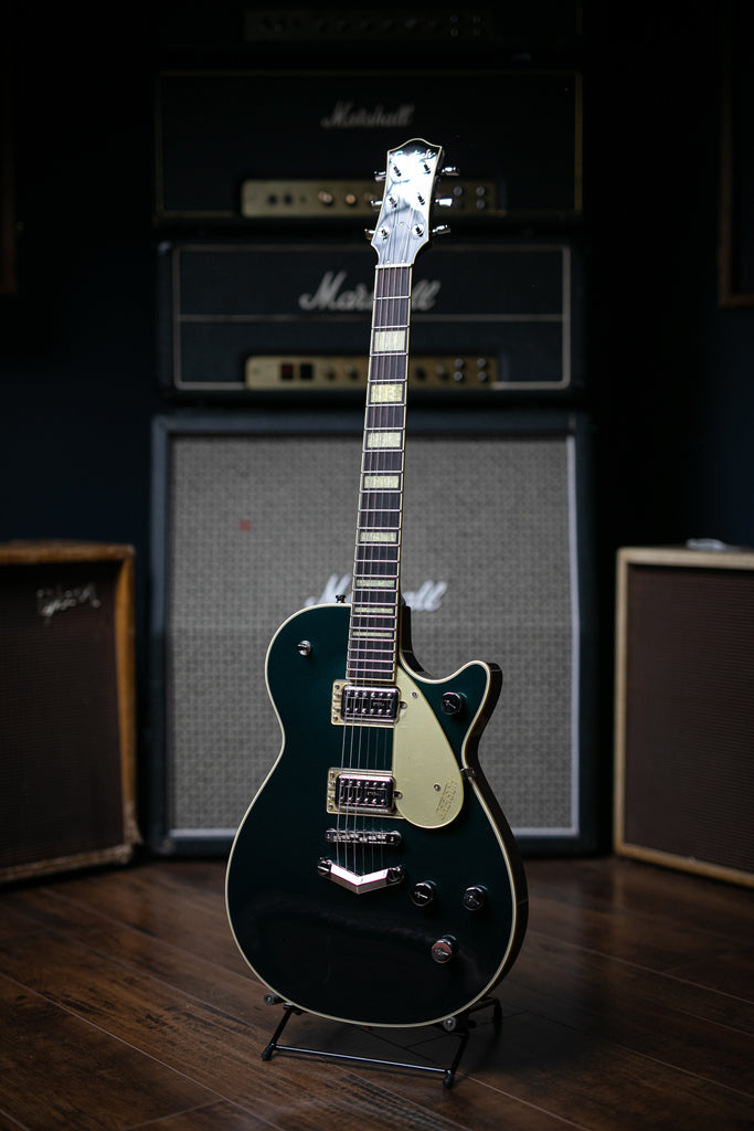 Gretsch G6228 Player's Edition Jet BT Electric Guitar - Cadillac Green - Walt Grace Vintage