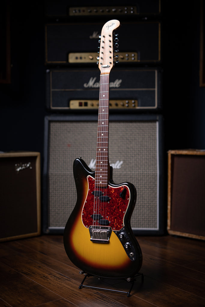 1966 Fender Electric XII Electric Guitar - Sunburst - Walt Grace Vintage