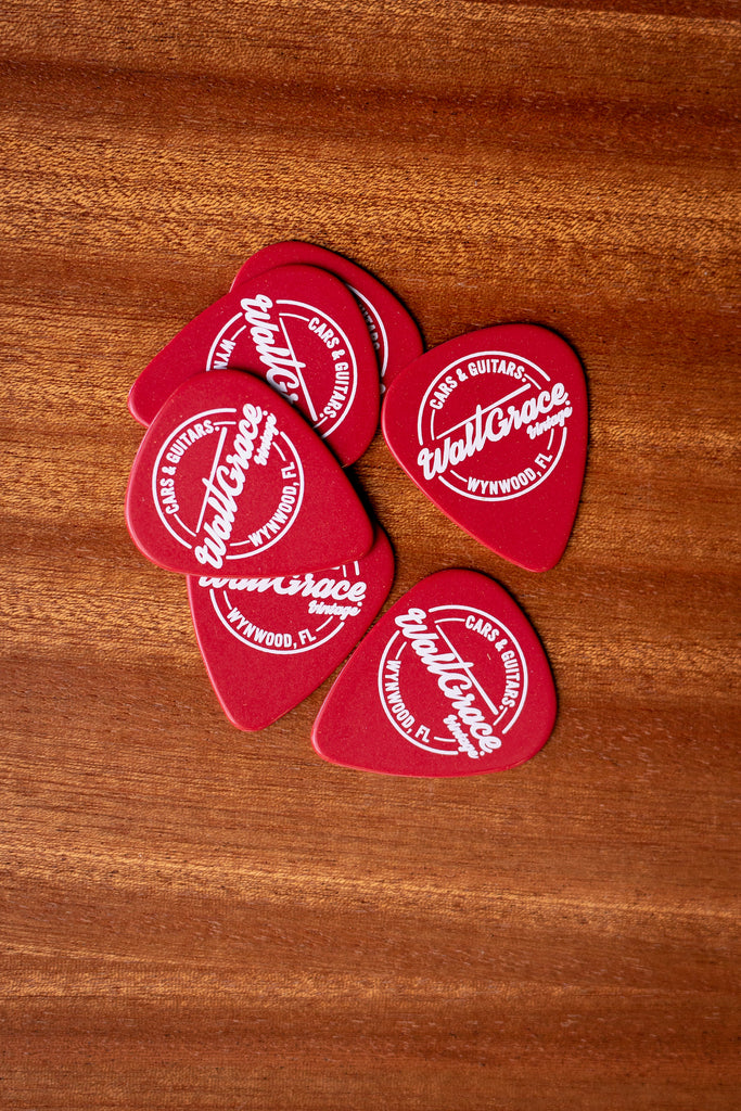Walt Grace Vintage Pick Pack .96mm - Red - Walt Grace Vintage