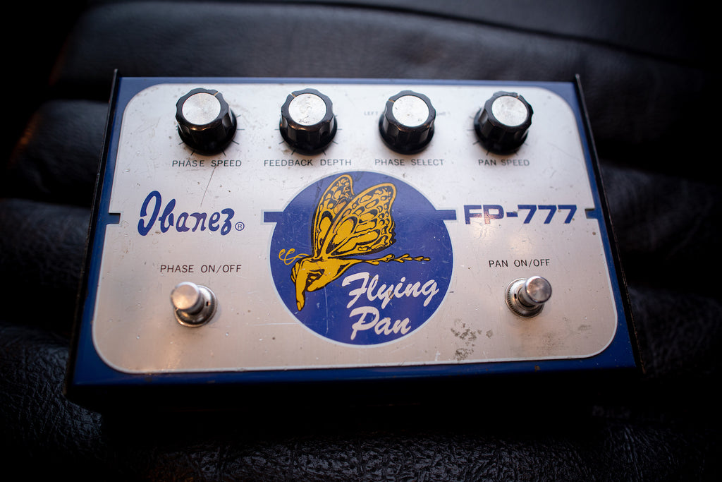 1970s Ibanez Flying Pan FP777 Phaser Pedal - Walt Grace Vintage