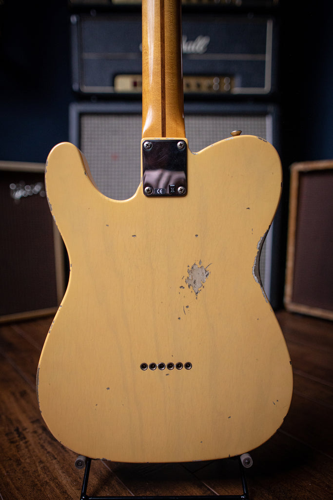 Fender Custom Shop '52 Telecaster Relic Electric Guitar - Butterscotch Blonde - Walt Grace Vintage