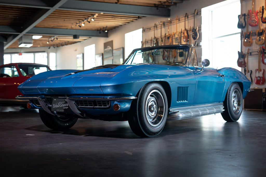 1967 Chevrolet Corvette Stingray Convertible 427/390 HP - Walt Grace Vintage