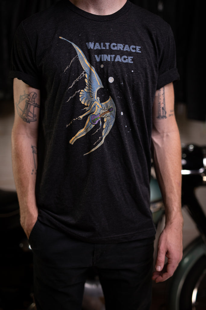 Walt Grace Vintage Special Edition Graphic T-Shirt Wings - Walt Grace Vintage