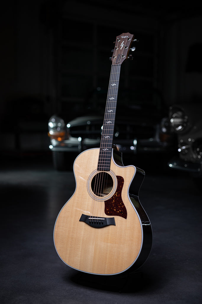 Taylor 414ce-R Rosewood Back & Sides and V-Class Bracing - Natural - Walt Grace Vintage