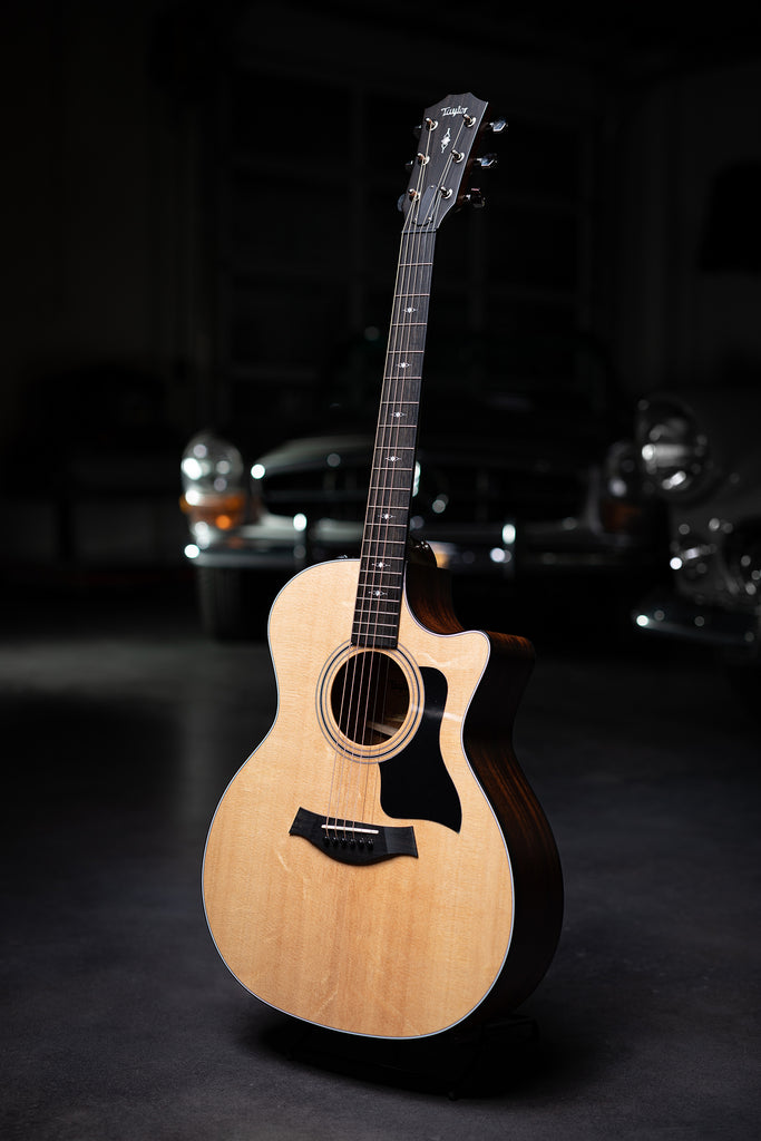 Taylor 314ce Sapele Back & Sides with V-Class Bracing - Natural - Walt Grace Vintage