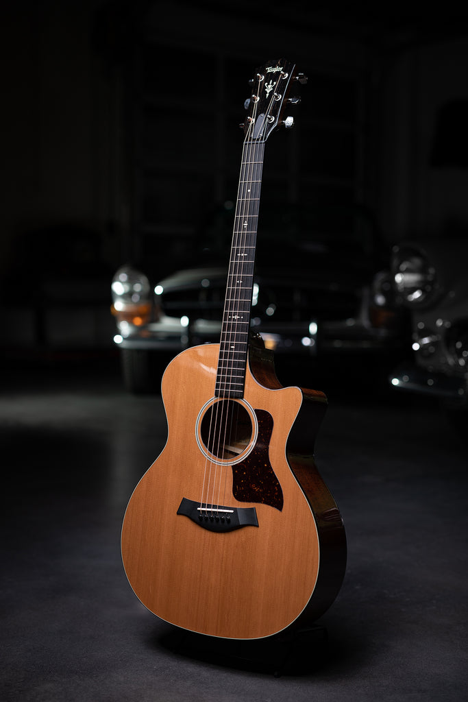 Taylor 514ce Mahogany Back and Sides with V-class Bracing - Natural - Walt Grace Vintage