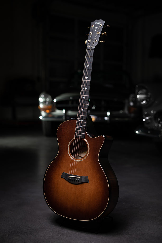 Taylor 614ce Builder's Edition-  Wild Honey Burst - Walt Grace Vintage