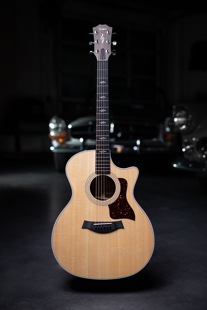 Taylor 414ce-R Rosewood Back & Sides and V-Class Bracing Acoustic Guitar - Natural - Walt Grace Vintage