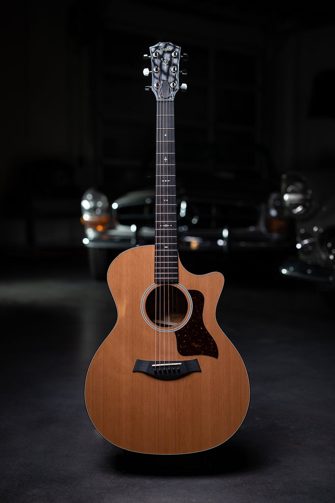 Taylor 514ce Mahogany Back and Sides with V-class Bracing Acoustic Guitar - Natural - Walt Grace Vintage