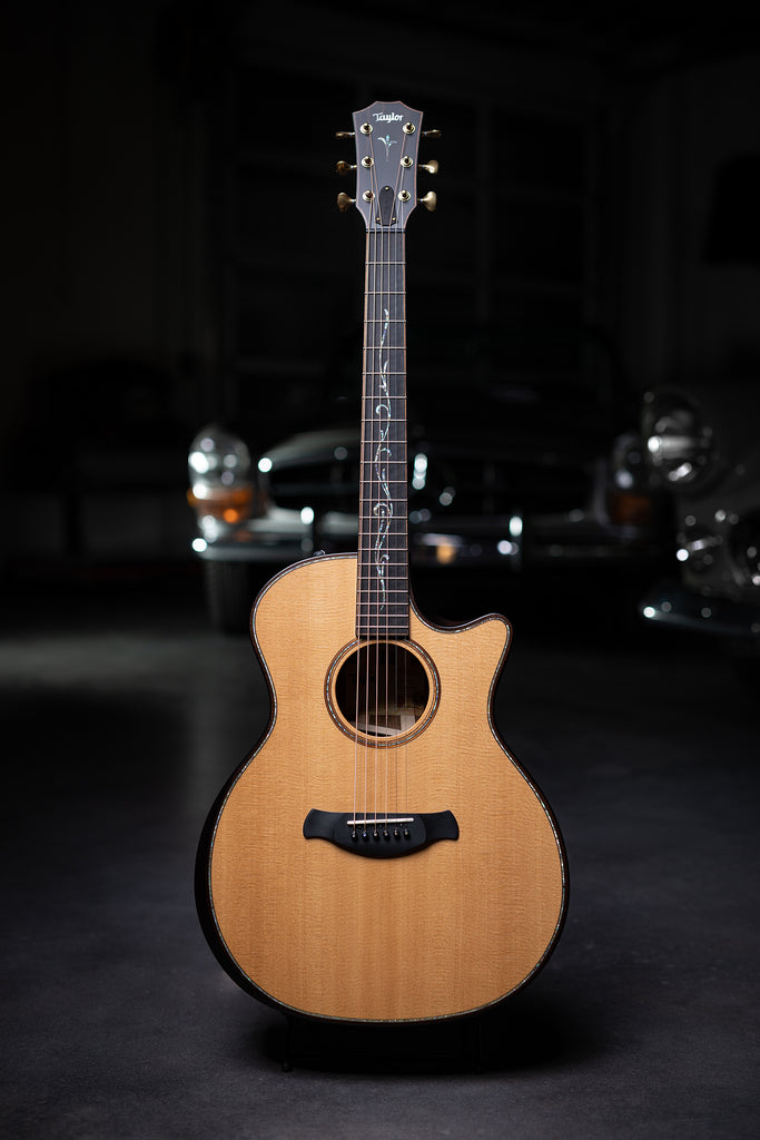 Taylor K14ce Builder's Edition Kona Burst with V-class Bracing Acoustic Guitar - Natural - Walt Grace Vintage