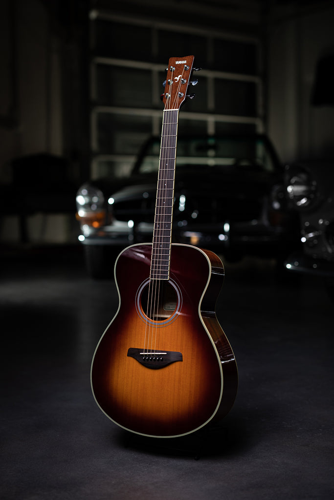 Yamaha FS-TA - Brown Sunburst - Walt Grace Vintage