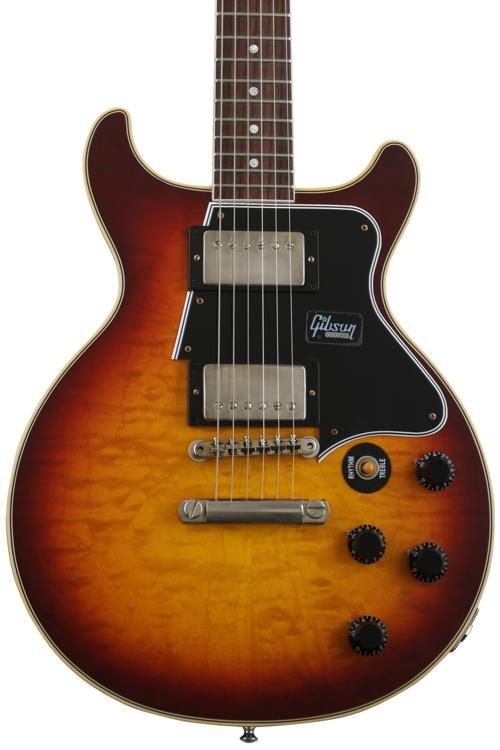 Gibson Les Paul Special Double Cut Electric Guitar - VOS Bourbon Burst