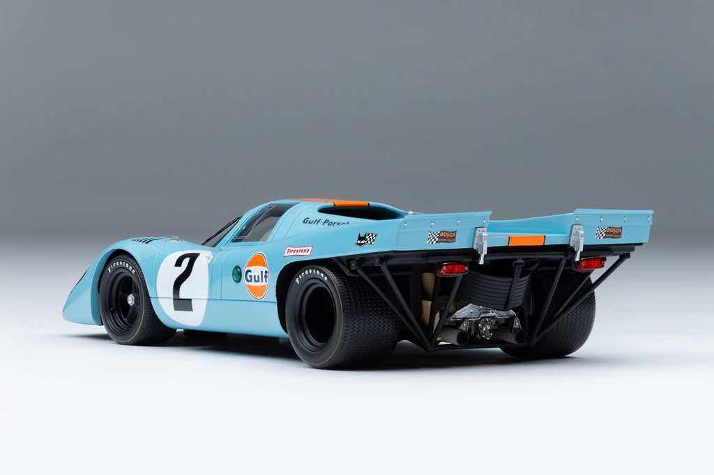 Amalgam Collection - Porsche 917K  1970 Daytona Winner  Road & Track Edition  1:18 Scale - Walt Grace Vintage