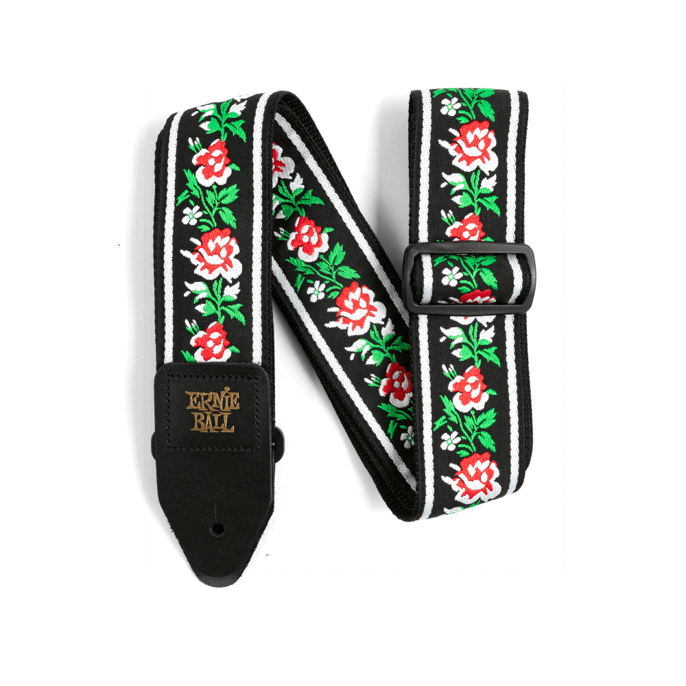 Ernie Ball Classic Jacquard Strap - Winter Rose - Walt Grace Vintage