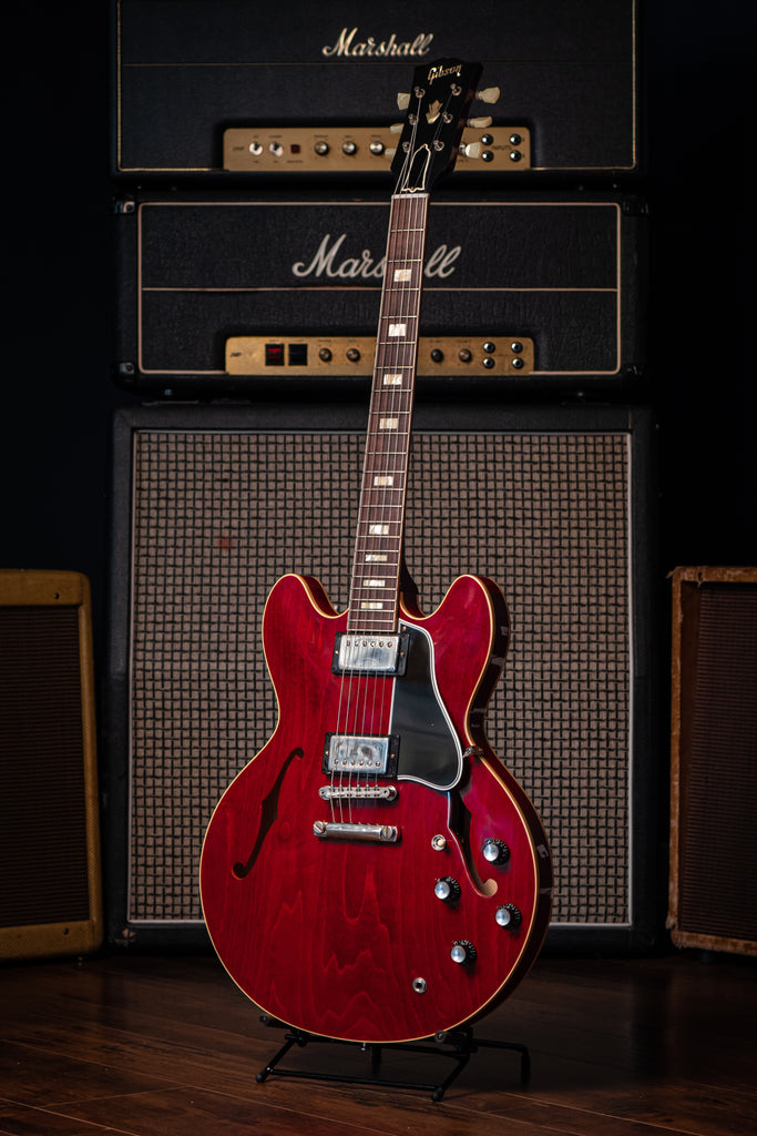 Gibson Custom Shop 1964 ES-335 Reissue Electric Guitar - VOS Sixties Cherry - Walt Grace Vintage