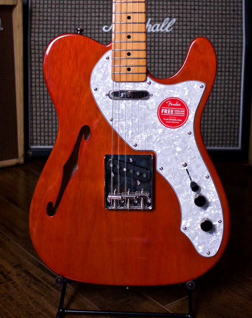 Squier Classic Vibe 60's Telecaster Thinline Electric Guitar - Natural - Walt Grace Vintage