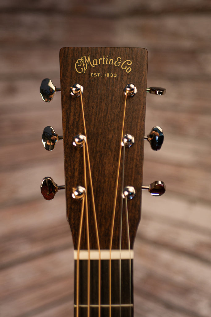 Martin D-16E Burst Dreadnaught Acoustic Guitar - Mahogany Burst