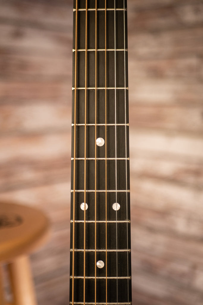 Martin D-10E Satin Sitka Sapele Road Series Acoustic Electric Guitar - Natural