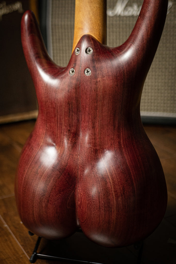 Used BaddAss Purple Heart Teak Bass