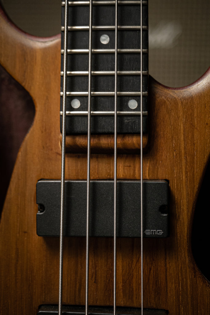 BaddAss Purple Heart Teak Bass