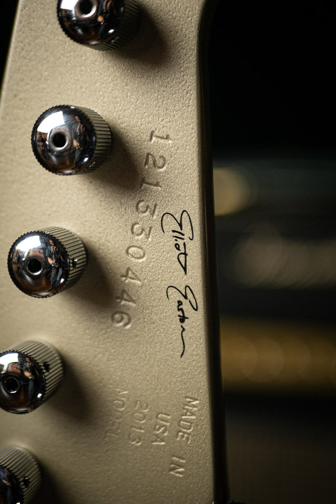 "2013 Gibson Elliot Easton ""Tikibird"" Firebird - Gold Mist Poly"