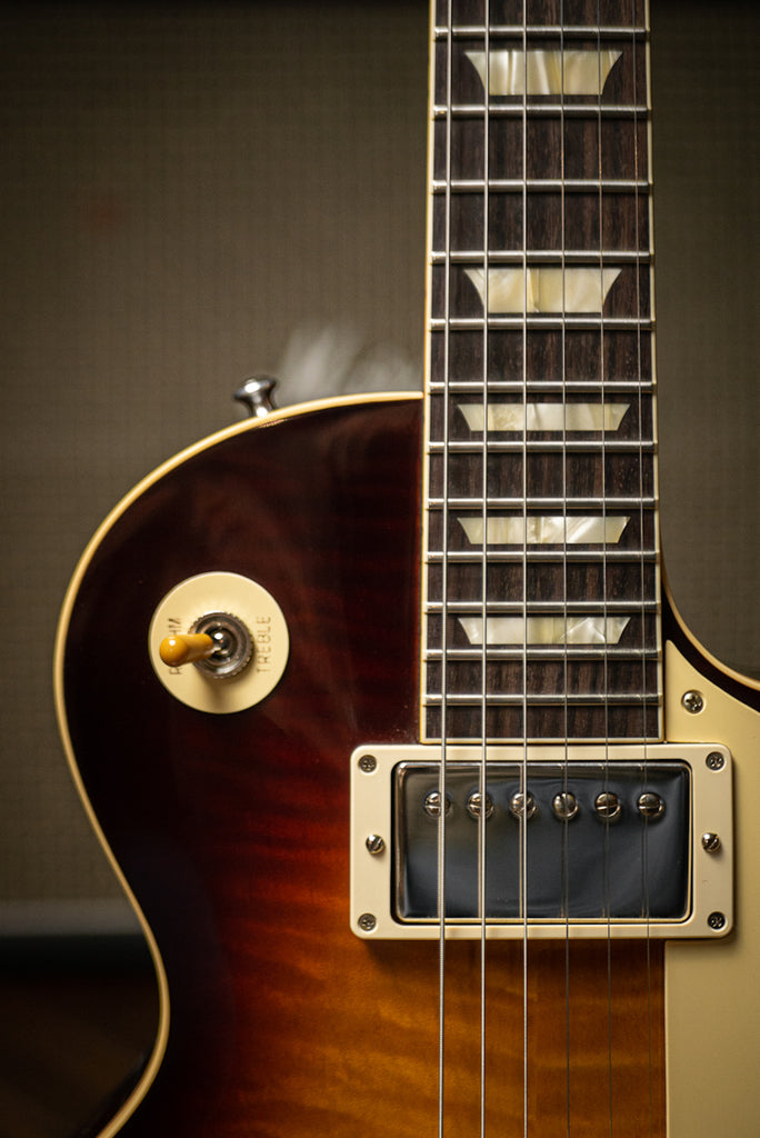 Gibson Custom Shop 60th Anniversary 1960 Les Paul Standard V3 Electric Guitar - Washed Bourbon