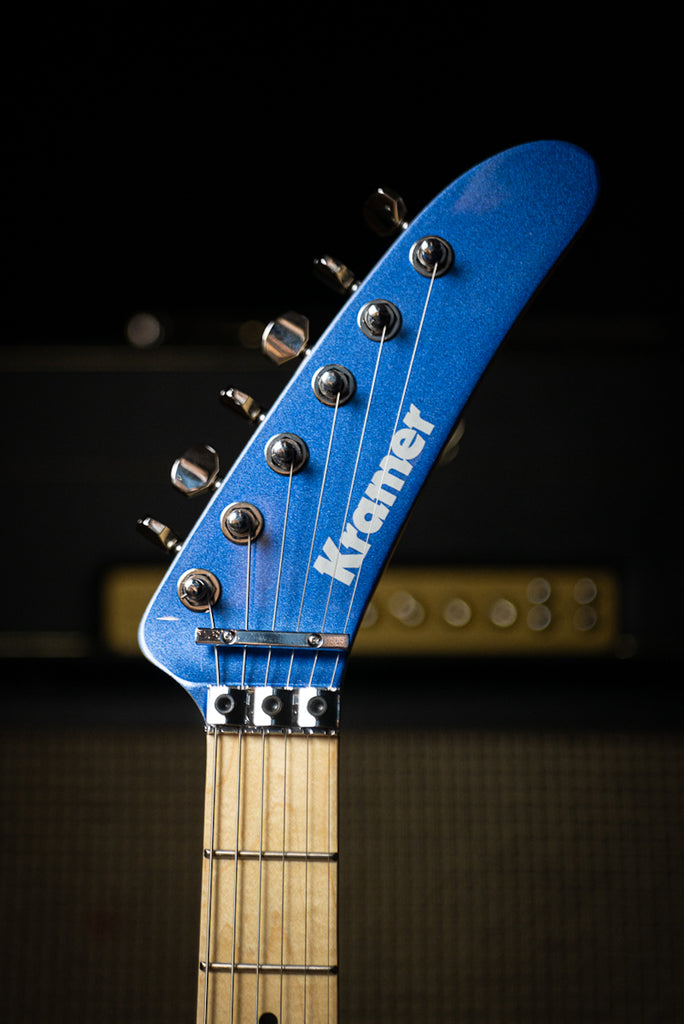 Kramer The 84 Electric Guitar - Blue Metallic