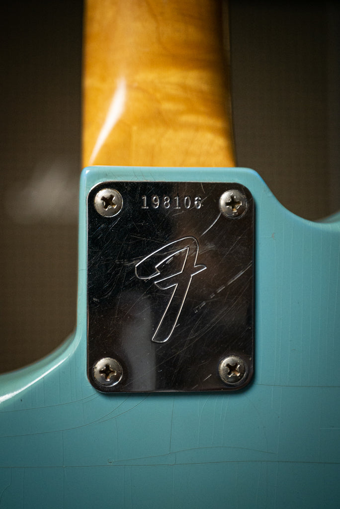1967 Fender Mustang Electric Guitar - Daphne Blue