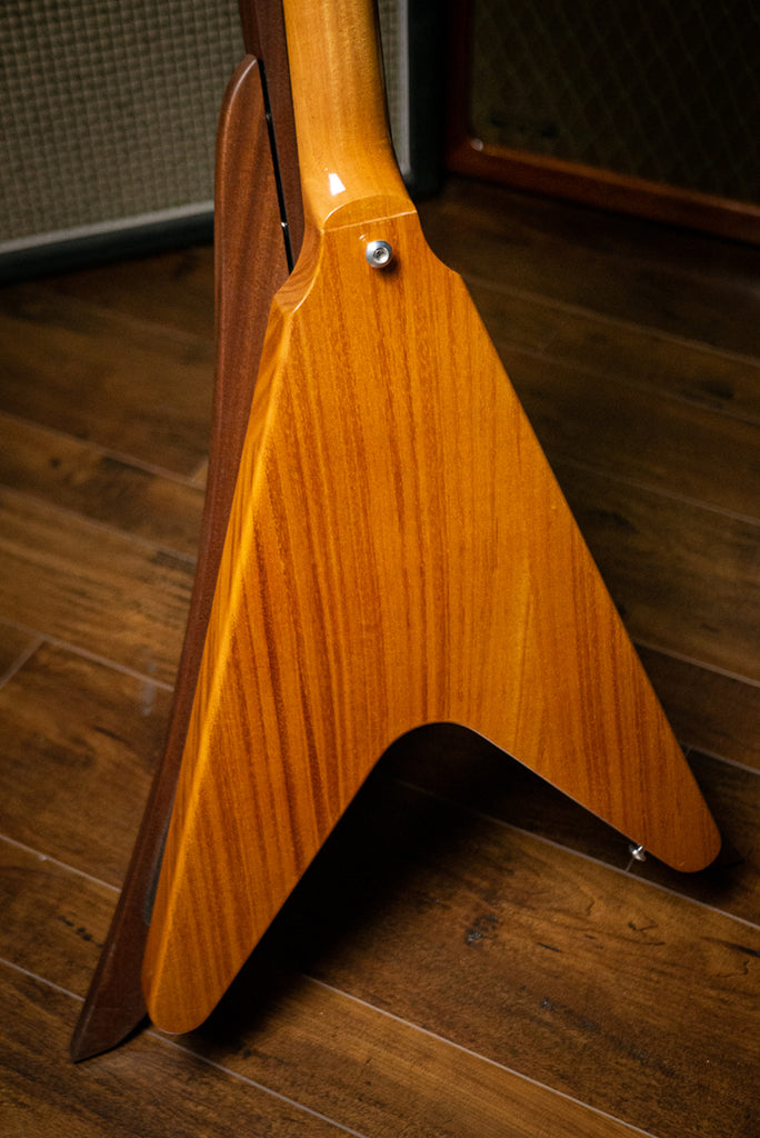 Gibson Flying V Electric Guitar - Antique Natural