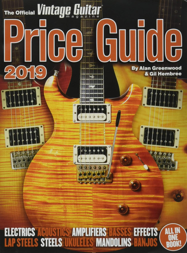 The Official Vintage Guitar Price Guide 2019 - Walt Grace Vintage
