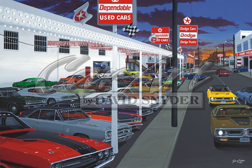 """Quick and Dependable"" Limited Edition Print - Walt Grace Vintage"