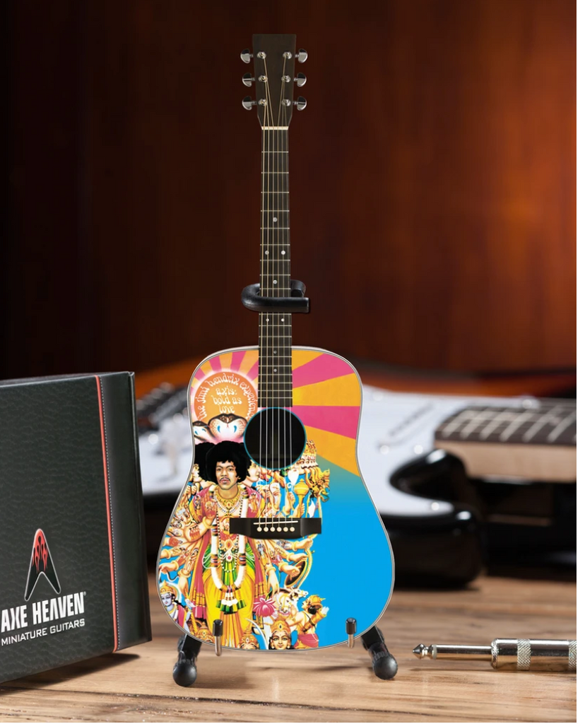 "Jimi Hendrix ""Bold as Love"" Acoustic - Mini Guitar - Walt Grace Vintage"