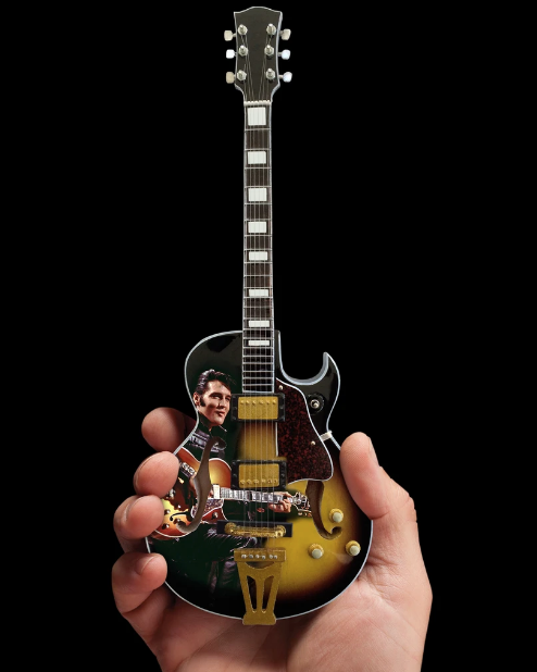 Elvis Presley 68' Special Hollow Body Mini Guitar - Walt Grace Vintage