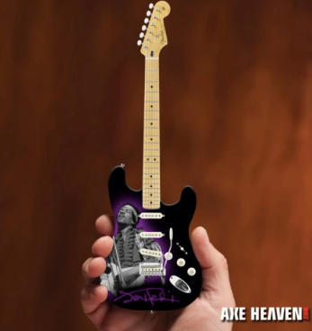 Jimi Hendrix Fender™ Strat™ Tribute Mini Guitar - Walt Grace Vintage