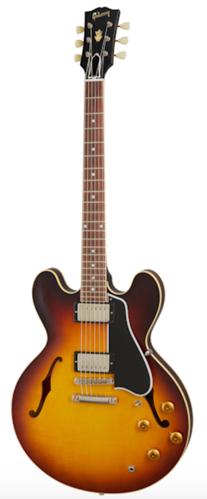 Gibson Custom Shop 1959 ES-335 Reissue Electric Guitar - VOS Vintage Burst