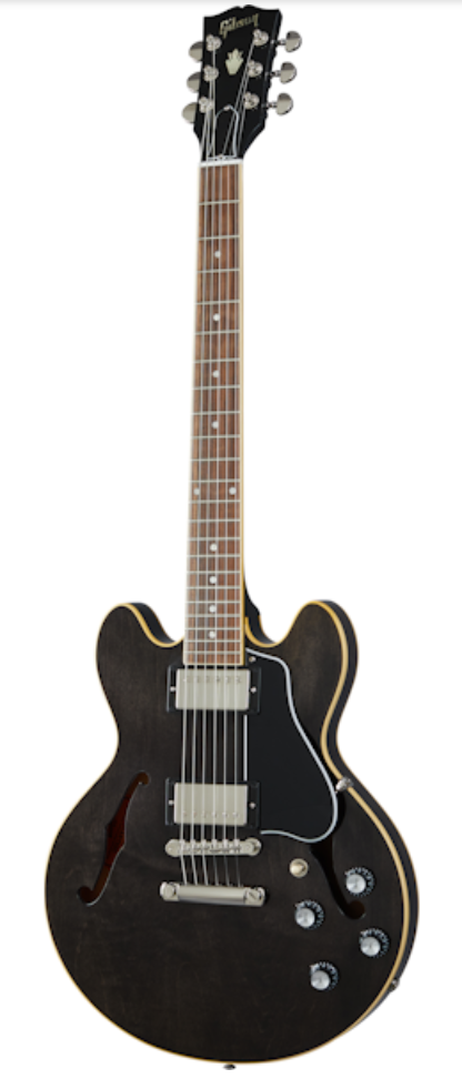 Gibson ES-339 Electric Guitar - Trans Ebony