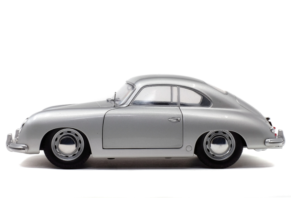 Solido 1953 Porsche 356 Pre-A 1:18 Scale Model - Silver
