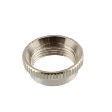 Allparts EP-4923-001 Deep Round Nut for Toggle Switches - Nickel