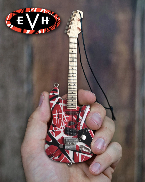 EVH Frankenstein Guitar Holiday Ornament