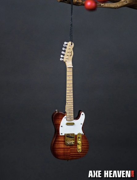 Fender Select Telecaster Guitar Holiday Ornament