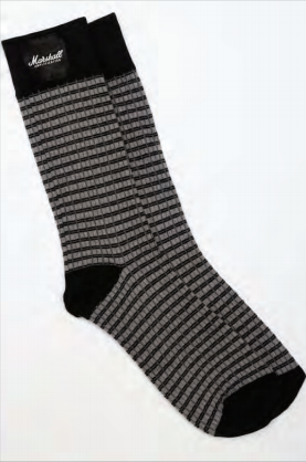 Marshall 3 Pack Monochrome Socks - Multiple Sizes