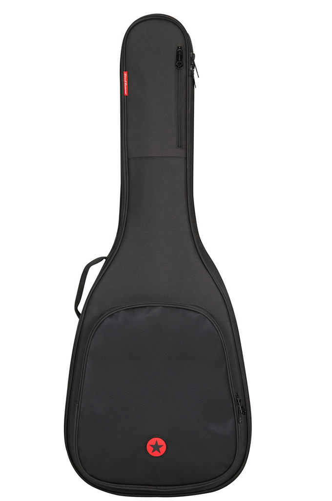 Road Runner Avenue II Acoustic Guitar Gig Bag - Black