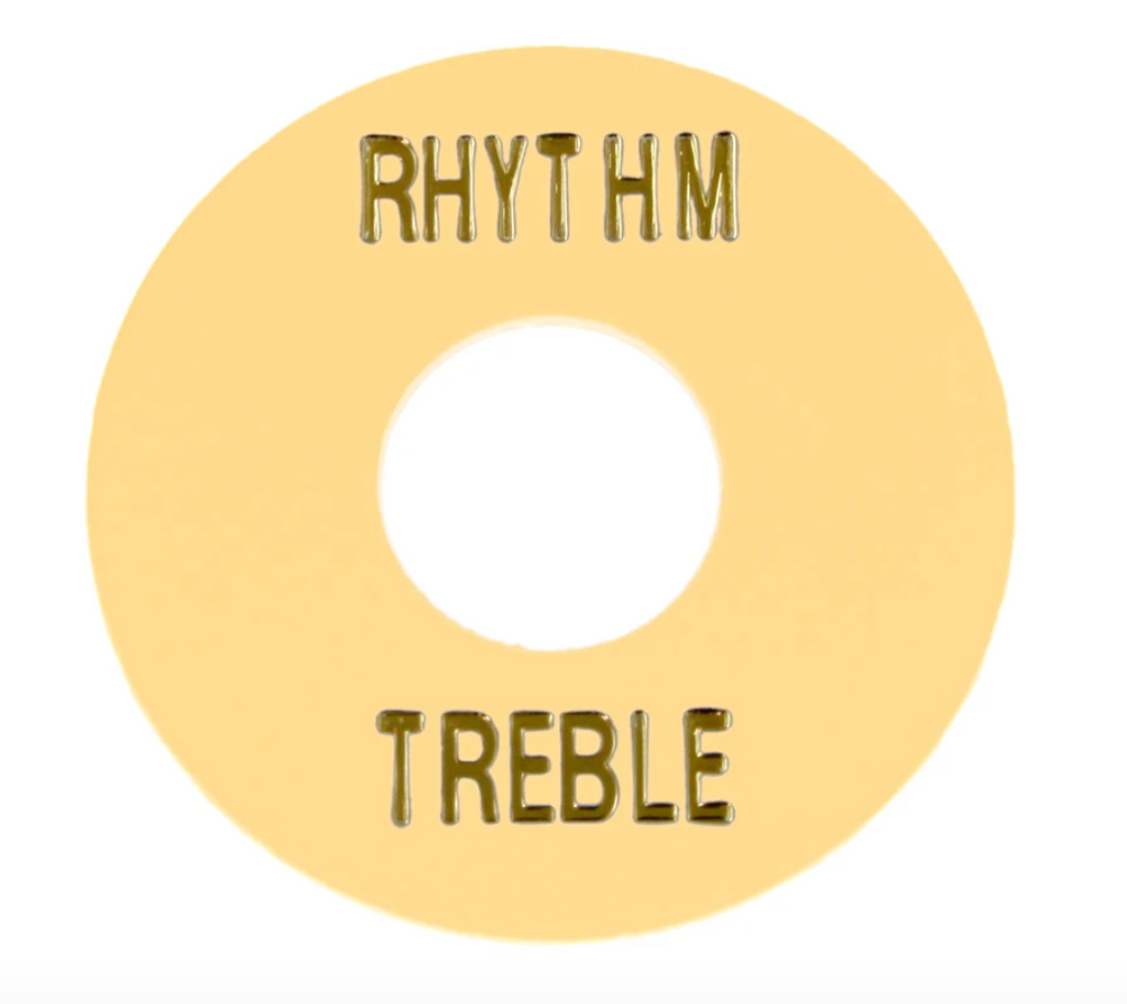 Allparts AP-0663-028 Rhythm and Treble Switch Ring - Cream