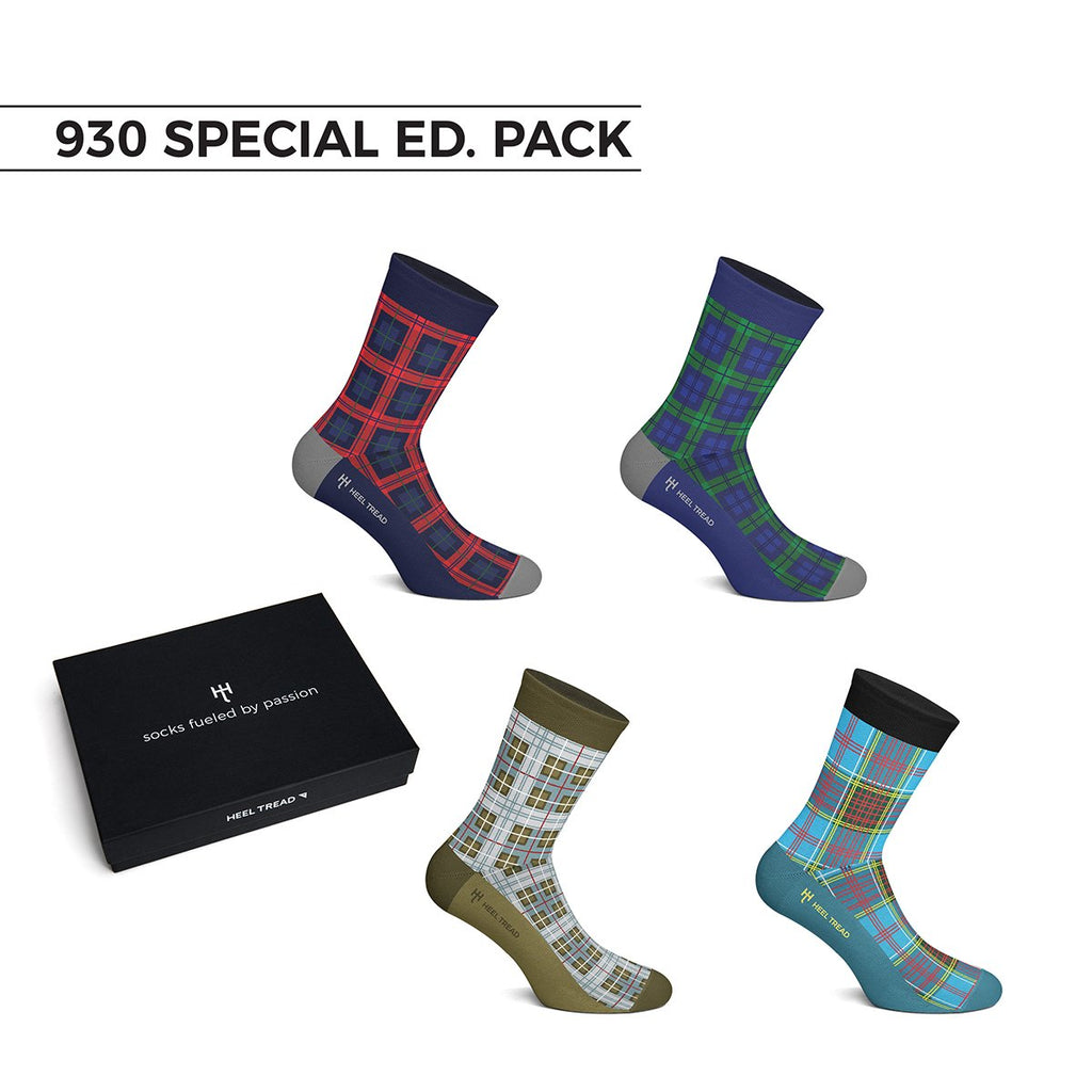 Heel Tread 930 Special Edition Sock Pack - Walt Grace Vintage